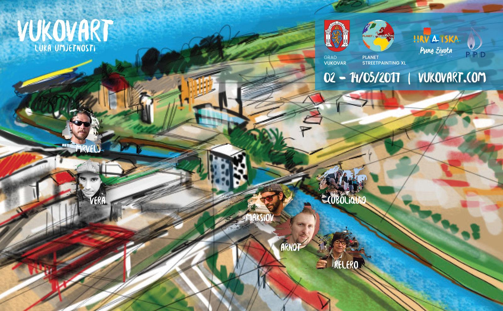 Vukovart - umjetnici razglednica